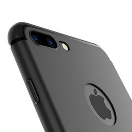 $enCountryForm.capitalKeyWord UK - New Luxury Slim Silicon For iPhone XS Max Case XR 5 5S SE Cover Black Soft Matte TPU Phone Case for iPhone 7 8 6 6S Plus X