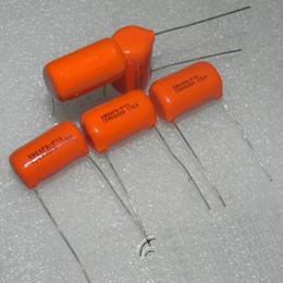 CDE 715 p 600 v 0.1 UF 600 V (104J) Vaat Kaplin Kapasitör Gitar Hoparlör Kapasitörler