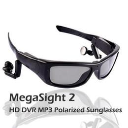 Venta al por mayor de Gafas de sol deportivas polarizadas MEGASight 3 MV16GB con cámara de video HD 720 incorporada