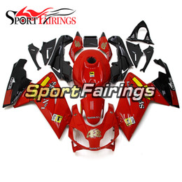 aprilia body kits NZ - Motorcycle Glossy Red Yellow Full Fairings For Aprilia RS125 2006 - 2011 07 08 09 10 11 ABS Plastic Bodywork Sportbike Body Kit