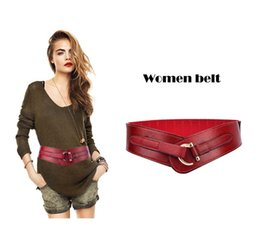 brown faux leather belt UK - women belt accessories ladies gift elastic belts wide dress belt top fashion leather sash skirt belts fit waist within 36#