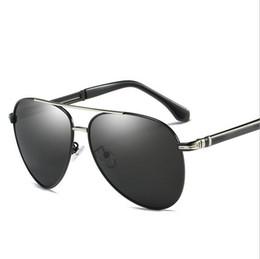 $enCountryForm.capitalKeyWord Australia - Fashion Pilot Polarized Sunglasses Beach flash Eyewear Metal sun glasses Driving fishing for men A506