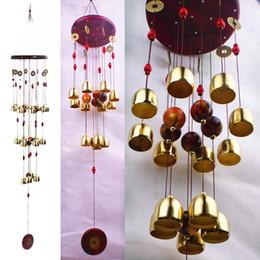 Plastic wind chime online shopping - Festive cm Outdoor Living Wind Chimes Yard Garden Wind Chime Windchime Garden Feng Shui Home Tubes Bells Copper Bells