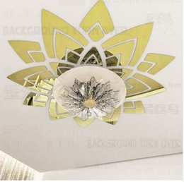 $enCountryForm.capitalKeyWord NZ - Creative magnificent blossom large flower wall decals ceiling stickers decorative mirrors living room home bedroom decor R033
