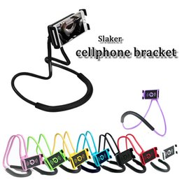 Lazy arm phone hoLder online shopping - long arm Selfie stick universale cellphone holder flexible rotation travle lazy tool mobile phone bracket buckle support smart phone
