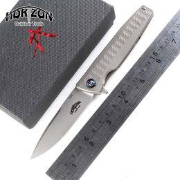 tactical gear 2019 - Kotizon original 701 outdoor gear Flipper Folding knife Titanium handle S35VN blade Tactical camping survival Knives EDC