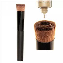 China Wholesale- Multipurpose Liquid Foundation Brush Pro Powder Makeup Brushes Set Kabuki Brush  Face Make up Tool Beauty Cosmetics cheap wood beauty suppliers