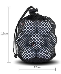 nylon cage 2019 - Golf mesh bag ball storage nylon mesh package one pcs cheap nylon cage