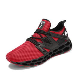 Discount rhythm shoes men's sport running shoes muisc rhythm men's sneakers breathable mesh outdoor athletic shoe light male shoe za
