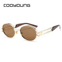 CVOO Sunglasses Men Male Vintage Steam Punk Sunglass Women Hip Hop Glasses Eyewear UV400 Lunettes De Soleil X4anLdR