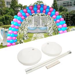 diy balloons 2018 - 14Pcs Balloon Arch Kit Birthday Party Wedding Large Set Column Balloon Arch Frame Ballons & Accessories DIY Decorati