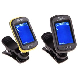 digital bass guitar 2019 - Rowin LT-22 Acoustic Guitar Tuner Clip-On Automatic Digital Electronic LCD for Electric Bass Chromatic Violin Ukulele di