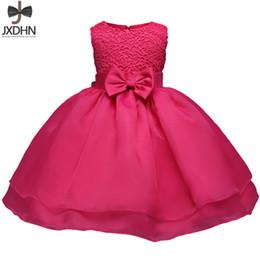 507887a7a Ropa de bebé recién nacido Un vestido de cumpleaños Vestidos de bautizo para  niños Vestidos de fiesta para niña 6 12 18 24 meses Bebes