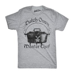 Dutch ovens online shopping - Mens Dutch Oven Funny Master Chef Hilarious Vintage Amish Cooking T shirt