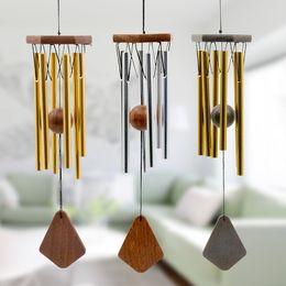 $enCountryForm.capitalKeyWord NZ - Creative multi-tube handmade metal wind chime Modern wind bell European style pendant birthday gift home decoration