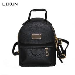 China 2017 Mini Backpacks For Teenager Girls Back Bag Women PU leather Small Pretty Shoulder Bag feminine Daypack bolsas femininas supplier pretty black backpacks for women suppliers