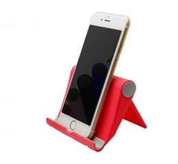 Lazy ceLL phone hoLder online shopping - hot Foldable cell phone holder Folding Phone Grip Stand lazy Holder For iPhone Samsung Pop Phone Car Mount Stand A416