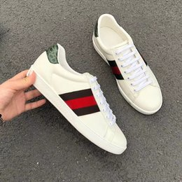 bf921c28e54d 2018new style fashion luxury designer High end new leather frenulum leisure  sports shoes running shoes free ship ciassics focus of attention