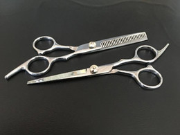 Hair Shears Children NZ - New Stainless Steel Hairdressing Scissors Haircuts Flat Cutting Scissors Bangs Thinning Shears Professional Salon Barber Hair Scissors