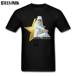 be71680864 Cotton Men 2018 Leon Russell Mens Designer T Shirts Man Crew Neck Short  Sleeved Clothing Lowest Price Men Couple Unique Tee
