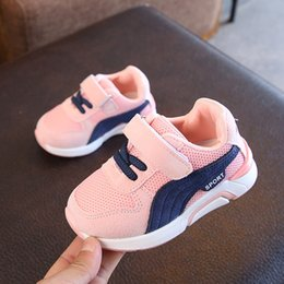 Kids Anti Slip Shoes Canada - Hot Sale Children's Shoes Spring Autumn Boys Girls Fashion Comfortable Breathable High-quality Anti-slip Kid Sport Shoes Best-selling