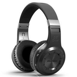 Wireless Usb Music Headphones Canada - Wireless Bluetooth Headphones Bluedio HT BT 4.1 Version Subwoofer Stereo Handsfree Headset built-in Mic For Mobile Phone Music Earphones