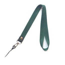 $enCountryForm.capitalKeyWord UK - 10Pcs lot Business Lanyards Neck Strap For ID Pass Card Badge Gym Key   Mobile Phone USB Holder DIY Hang Rope Lariat Rope