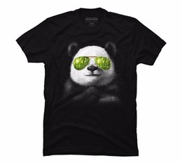 $enCountryForm.capitalKeyWord NZ - Cool Panda Men's Graphic Printed T Shirt Fashionable Slim-Fit Short Sleeve T-Shirt Brand Clothes Summer 2018