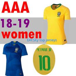 be7cdbb9756 omen Shirt 2018 World Cup Coutinho Jesus soccer jerseys Oscar PAULINHO  Marcelo Casemiro National Team Football AAA+