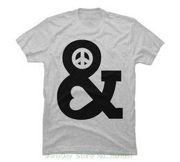 Tshirt Men Graphic Australia - Tshirt Men Black Short Sleeve Cotton Hip Hop T-shirt Print Tee Shirts Peace And Love Men's Graphic T Shirt