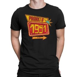 T producTs online shopping - Product of Mens th Birthday T shirt s Fifties Retro Mans