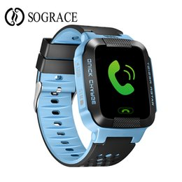 Digital Wrist Gps Australia - Original Kids Smart Watch Games Smartwatch SOS GPS for Child Phone Call Relogio 2G GSM SIM Card Boys Girls Digital Phone Watch