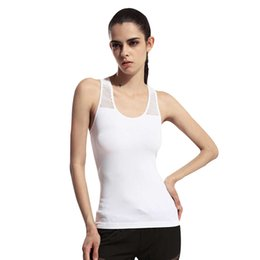 sexy running clothes UK - Womens Yoga Shirt Yoga Tank Tops Hollow Back Top Gym Jogging Vest Female Running Top Woman Fitness Sport Top Sexy Yoga Clothing