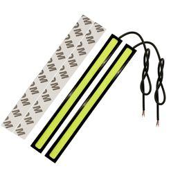 $enCountryForm.capitalKeyWord UK - 10X DRL Daytime Running Lights Fog Light 17CM LED COB car styling Waterproof Bar Driving Lamps White Ice Blue Accessories 2pcs