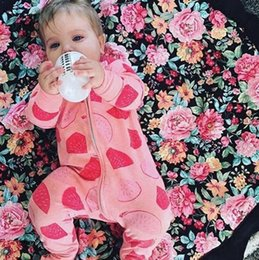 Sleeping Jumpsuits Australia - Spring Autumn Fashion Baby Boy Clothes Cotton Baby Girl Romper Long Sleeve Baby Jumpsuit One-pieces No Sleep to the Moon