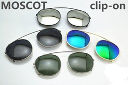 cce528caba New style Moscot cliptosh sunglasses lenses Lemtosh Flip Up polarized lens  clip-on clips eyewear myopia 6 colors lens