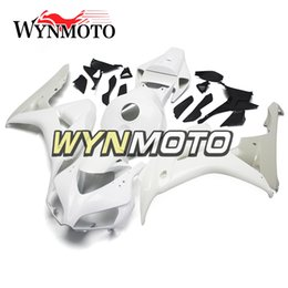 Unpainted Fairings Australia - Fairings For Honda CBR1000RR 06 07 Yea CBR1000 RR 2006 2007 ABS Injection Plastic Body Kits Cowlings Unpainted Panels Hulls