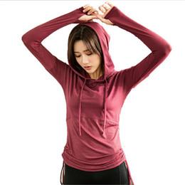 Mermaid Curve Front Women s Yoga Shirts Long Sleeve Yoga Top Sportswear  Quick Dry Tracksuit Women Running Shirt f25a6c082436