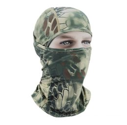 Paintball Camo UK - Outdoor sports Camo Balaclava Tactical Hunting Outdoor Paintball Motorcycle Ski Cycling Protection Full Face Mask