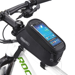 Bicycle Bike Phone Holder Frame Motorcycle Handlebar Mount Stand Cycling Riding Mountain Road Bracket Mobile Cell Gps Accessory