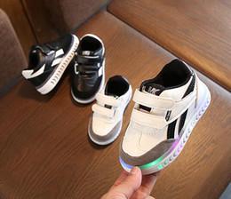 dc335ad1b AI LIANG Linda Princesa Meninos Meninas Botas Dos Desenhos Animados  Crianças Sapatos Moda Casual LED Luz Do Bebê Caçoa As Sapatilhas