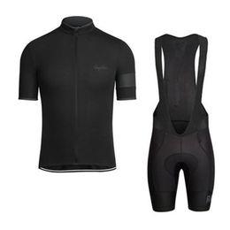 RAPHA лето мужские с коротким рукавом велоспорт Джерси велосипед одежда нагрудник комплект MTB равномерное про велоспорт одежда велосипед Майо Culotte костюм