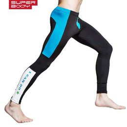 $enCountryForm.capitalKeyWord NZ - Men Fleece Thermal Underwear Fall Winter Thin Warm Long Johns Legging Tights Compression Underpant Spandex Sweat Pants Low Rise