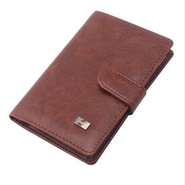 $enCountryForm.capitalKeyWord UK - PU Leather Passport Cover Men Travel Wallet Credit Card Holder Cover Russian Driver License Wallet Document Case --BIH009 PM20