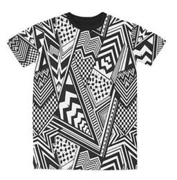 3d Character Printed Men S T Shirt NZ - Sondirane Cool Desing Men Women 3D Print Striped Character Fashion Short Sleeve T Shirt Summer Style Casual Hip Hop Tops Clothes