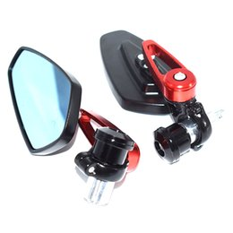 Wholesale For Black quot Handle Bar End Motorcycle Rearview Mirror Wing Mirror For Yamaha
