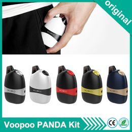 panda black metal 2019 - Original Voopoo PANDA Kit vaper ALL-IN-ONE POD SYSTEM 5ML Cartridge 1100mah Battery Electronic Cigarette Vape Vaporizer