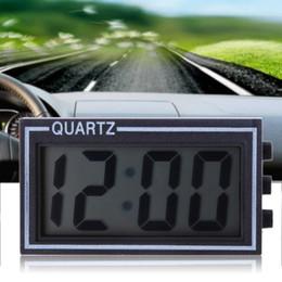 $enCountryForm.capitalKeyWord NZ - LCD Lighted Digital Car Clock Auto Car Truck Dashboard Date Time Calendar Black High Quality Vehicle Electronic Digital Clock