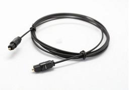 Toslink opTical fiber online shopping - 6ft m Digital Optical Optic Fiber Toslink Audio Cable OD2 mm Black LLFA