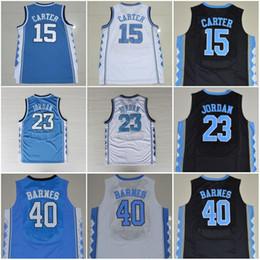 ed3a695df Discount harrison stitch -  15 Vince Carter  40 Harrison Barnes Basketball  Shirts Top Quality